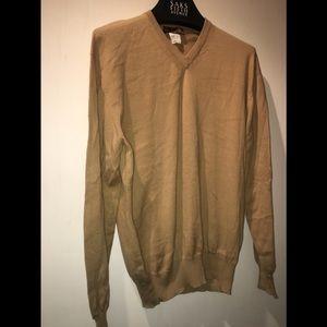 Loro Piana Slim-Fit Cotton Sweater Size 48 IT
